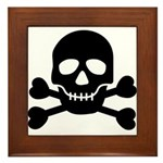 Pirate Guy Framed Tile