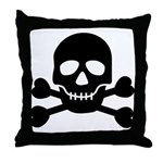 Pirate Guy Throw Pillow