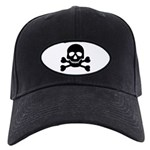 Pirate Guy Black Cap