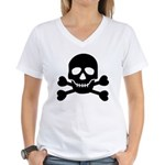 Pirate Guy Women's V-Neck T-Shirt