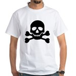 Pirate Guy White T-Shirt