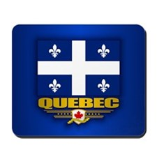 Quebec Flag Mousepad