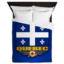 Quebec Flag Queen Duvet