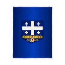 Quebec Flag Twin Duvet