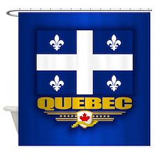 Quebec Flag Shower Curtain