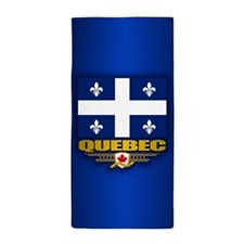 Quebec Flag Beach Towel