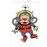 Space Monkey Postcards (Package of 8)