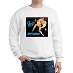 Dancing and Drinking Girl Sweatshirt