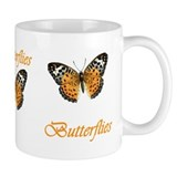 Three Butterflies Mug