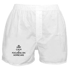 Keep Calm by focusing on Homecare Boxer Shorts