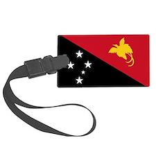 Papua New Guinea Flag Luggage Tag