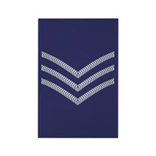 RAF Sergeant<BR> Rectangle Magnet