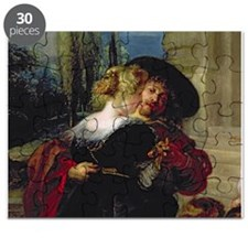 The Garden of Love, c.1630 32 (oil on can - Puzzle