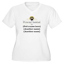 Pet Personal Assistant (Multiple Pets) T-Shirt