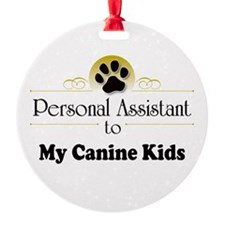 My Canine Kids Ornament