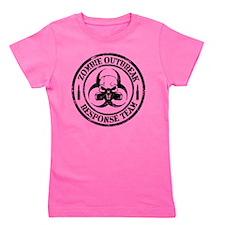 Zombie Outbreak Response Team Girl's Tee