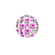 LOVE HAIR Mini Button