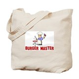 Burger Master Tote Bag