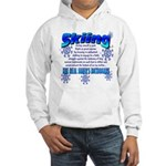 Skier's Dictionary Hooded Sweatshirt