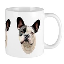 French Bulldog BW Bust Coffee Mug