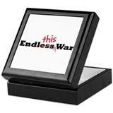 End This War Keepsake Box