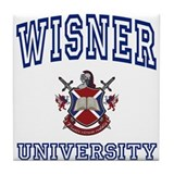 WISNER University Tile Coaster