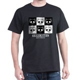 Skelekitten Tile T-Shirt