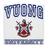 VUONG University Tile Coaster