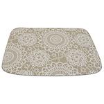 Champagne Lace crochet style Bathmat