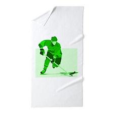 hockey Beach Towel