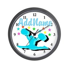 CHEERLEADER 4EVER Wall Clock