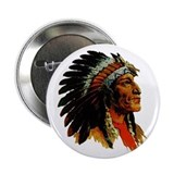 Indian Head Button - Vintage Native American