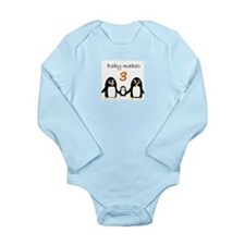 Baby Makes 3, Penguins Body Suit