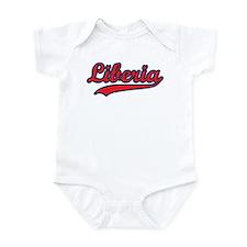 Retro Liberia Infant Bodysuit