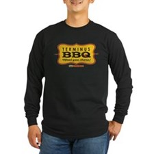 TWD Terminus BBQ Long Sleeve Dark T-Shirt