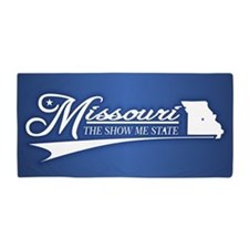 Missouri State of Mine Beach Towel