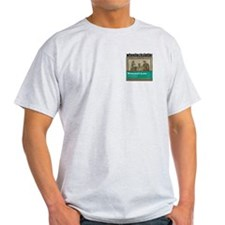 Wheelock (Lord Byron) Ash Grey T-Shirt