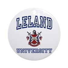 LELAND University Ornament (Round)