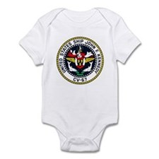 USS JOHN F. KENNEDY Infant Bodysuit