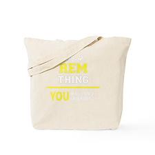 Unique Rem Tote Bag