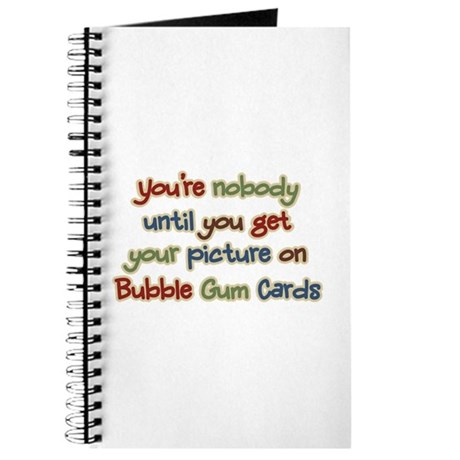 Baseball Bubble Gum Card Collector Journal