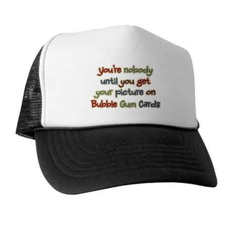 Baseball Bubble Gum Card Collector Trucker Hat