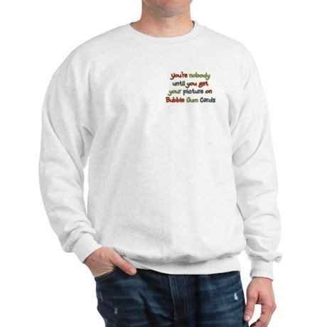 Baseball Bubble Gum Card Collector Sweatshirt