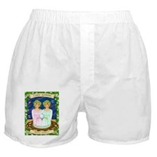 Lady Gemini Boxer Shorts