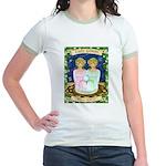 Lady Gemini Jr. Ringer T-Shirt