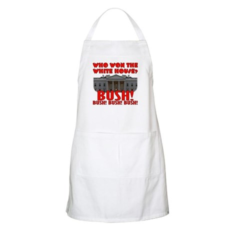 BUSH Won the White House! BBQ Apron