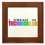 Technicolor Dreamcoat Framed Tile