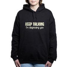 Cute Psychologist Women's Hooded Sweatshirt