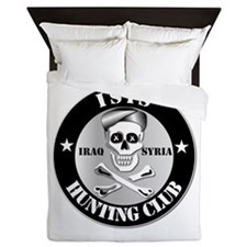 ISIS Hunting Club - Iraq - Syria Queen Duvet