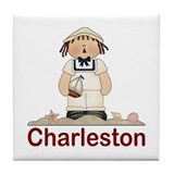 Charleston Sailor Tile Coaster